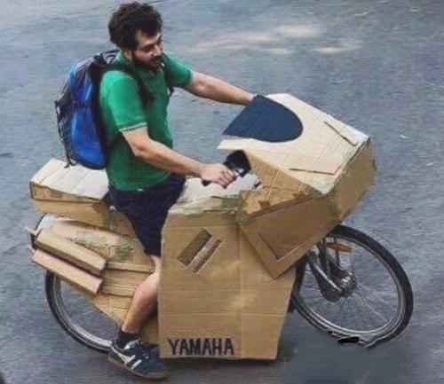 Moto-Ciclista, dovresti essere più fiero della tua moto…