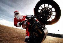 Babbo Natale stuntman