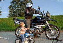 Da grande voglio essere come te, un motociclista