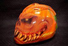 Ecco un casco per Halloween