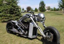 Moto scheletro
