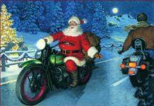Babbo Natale è un motociclista