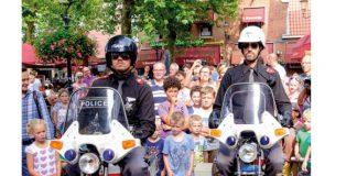 Molti poliziotti dovrebbero salire in sella solo per gioco…