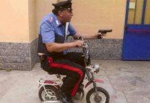 Ecco come vanno i carabinieri in moto.