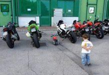 Crescerò mio figlio sano, bello e motociclista