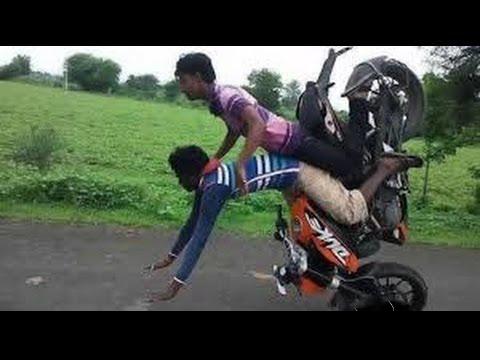 Quando un automobilista prova a frenare in moto….