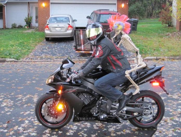 E' passato un po di tempo dall'ultimo giro in moto come zavorrina.
