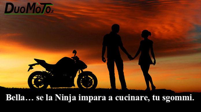 Frasi Divertenti - Bella, se la Ninja impara a cucinare, tu sgommi.