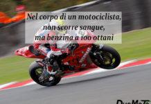 Frasi Divertenti - Nel corpo di un motociclista non scorre sangue
