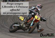Aforismi Biker – Prego sempre S.Brembo e S.Dainese affinché mi proteggano ogni mese!