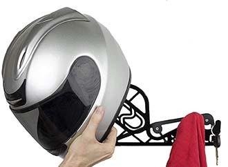 supporto parete per casco