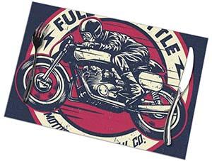 tovaglietta motociclo