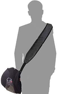 cinturino tracolla porta casco
