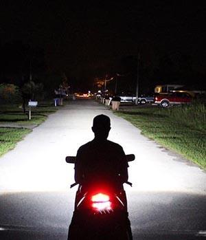 faro xeno moto