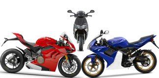 motocicli, ciclomotori e scooter