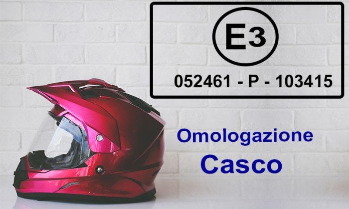omologazione casco