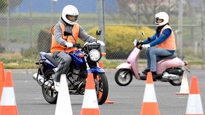 paura della moto